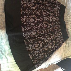 Ann Taylor Loft pleated skirt